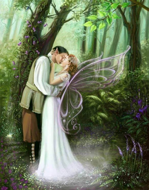 свадьба картинки с феями что