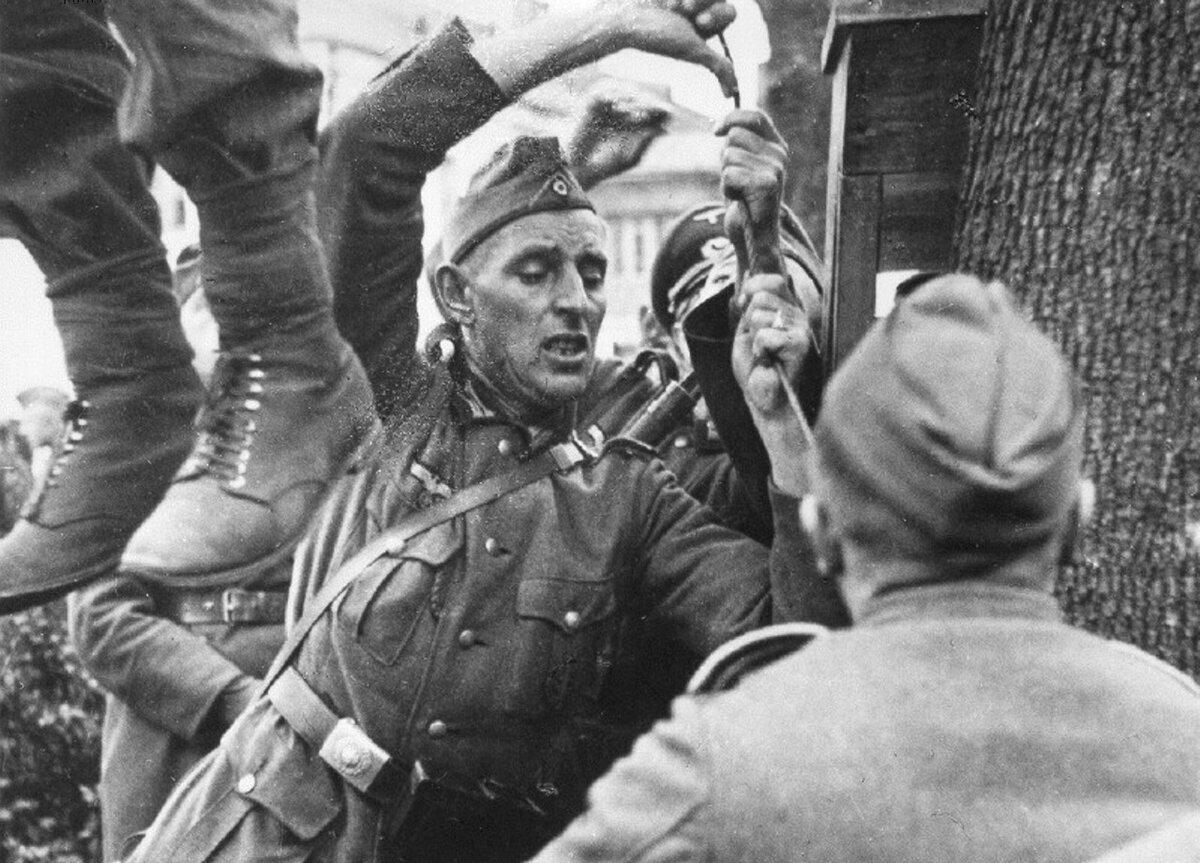 зверства фашистов, оккупация Витебска