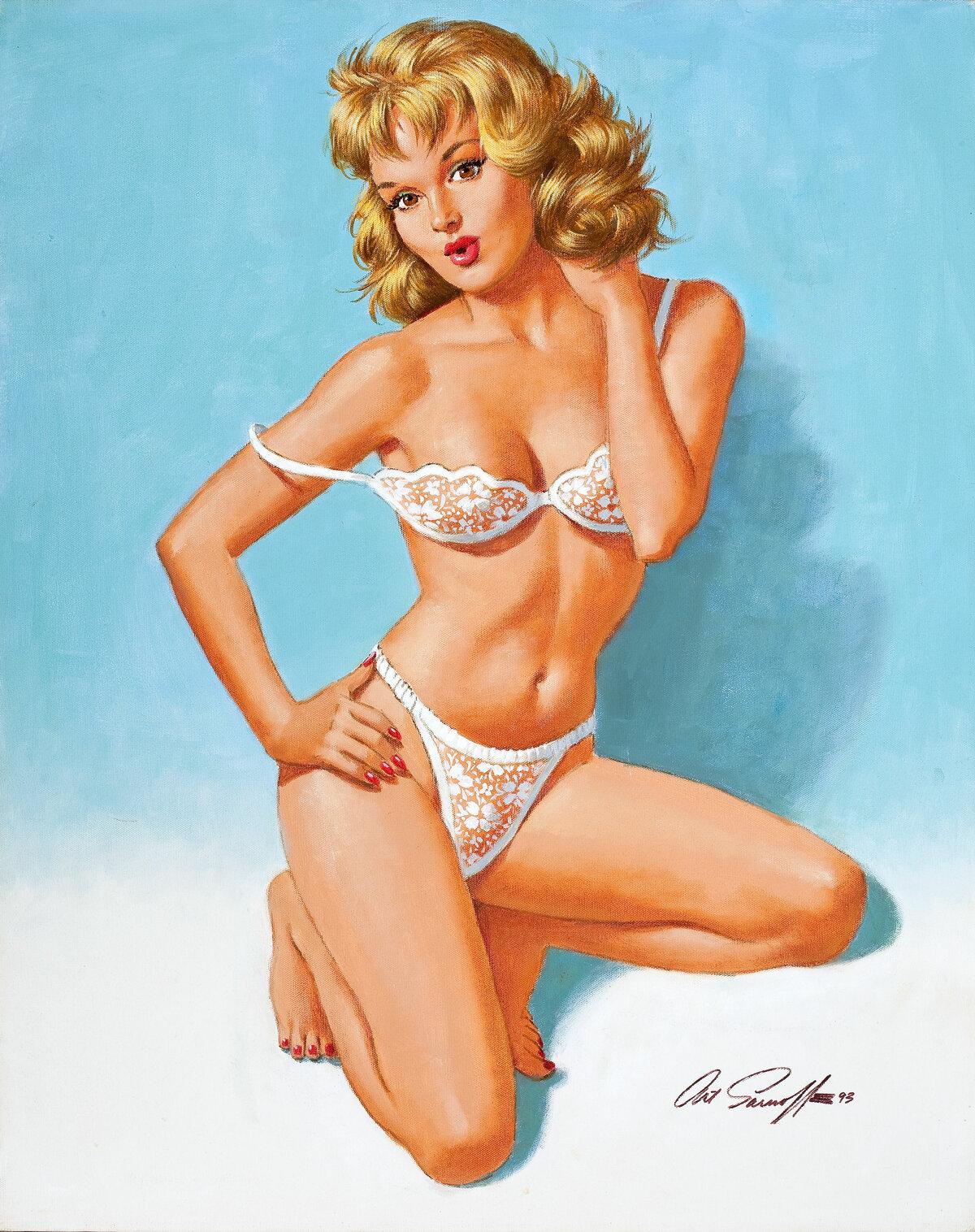 Naked best vintage nude pinup black women wild