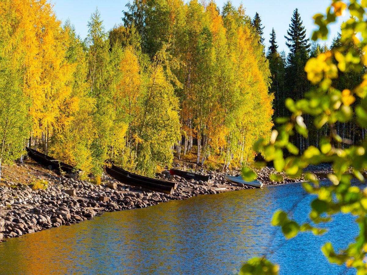 Фото в карелии осенью с людьми