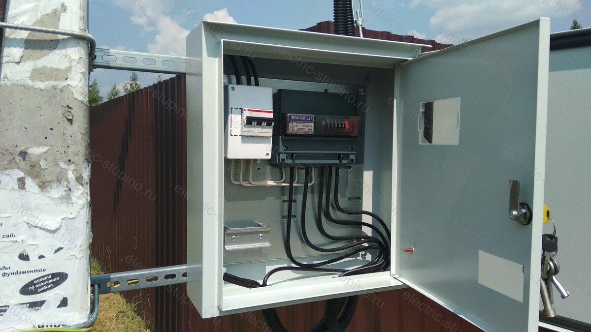 Подключение частного дома к электричеству 15 кВт
