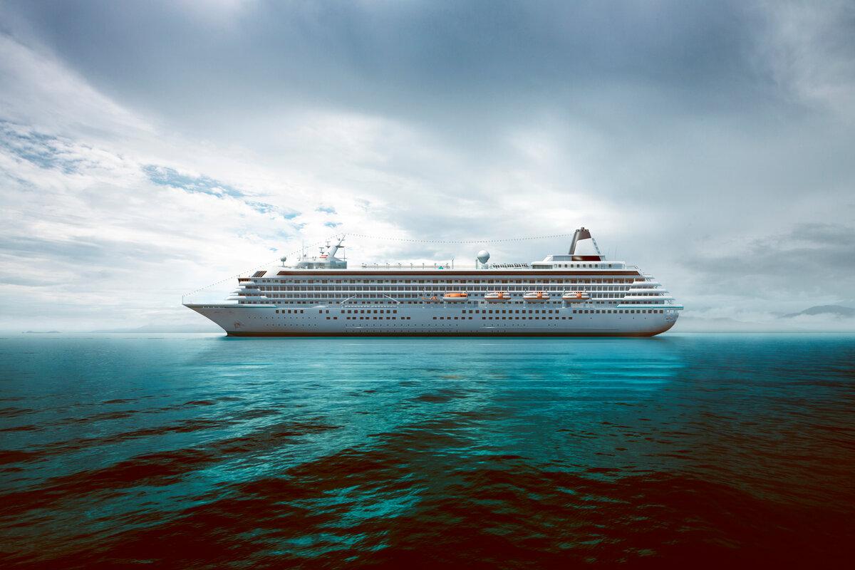 Картинки лайнер на море