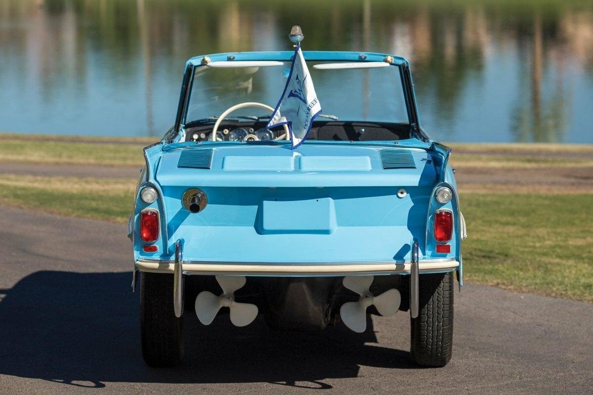 Автомобиль-амфибия Amphicar 770, 1966 года