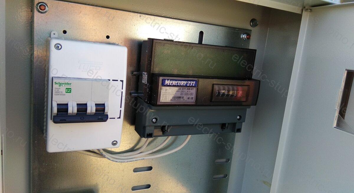 Подключение частного дома к 15 кВт сборка электрощита