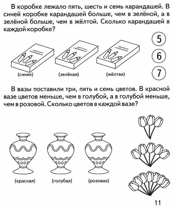 Интересные задачи картинки на логику