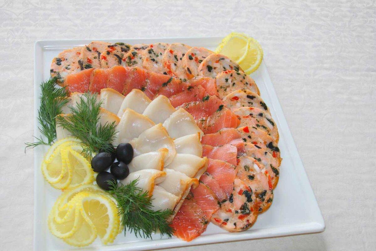 оформление рыбных блюд фото эта