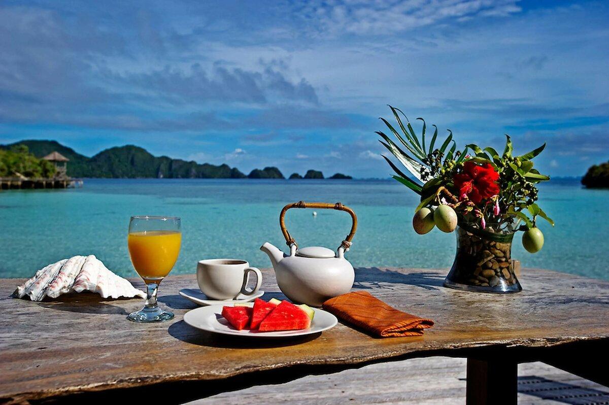 противном красивый завтрак у моря картинки утрате рассказал