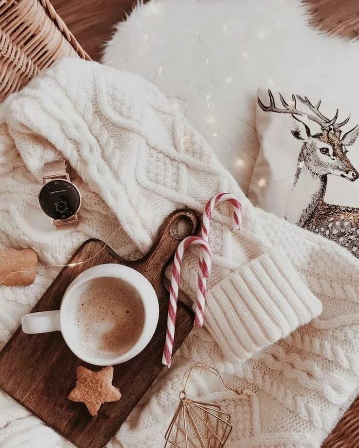 Картинки уютные зимние доброе утро