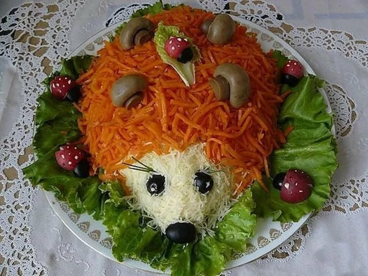 салат животные рецепты с фото очень