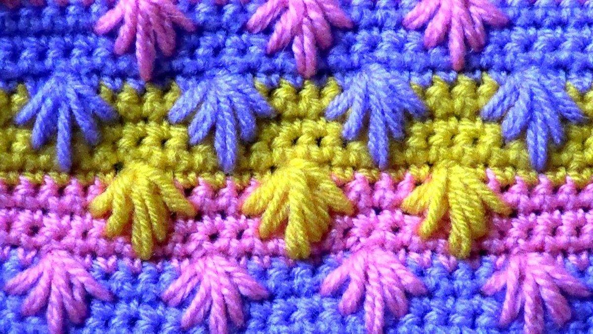 Цветное вязание картинки