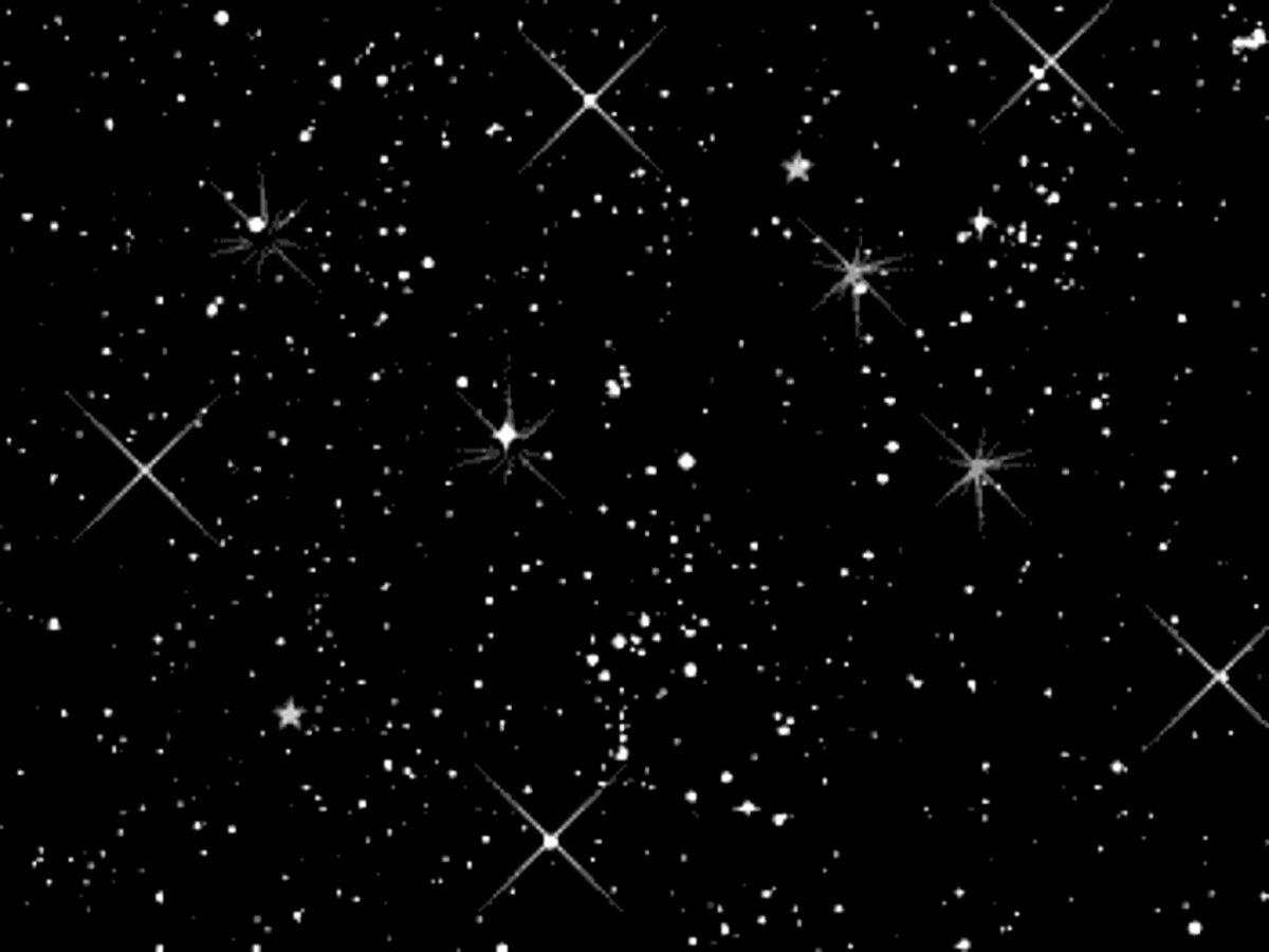 Картинка звездного неба анимация