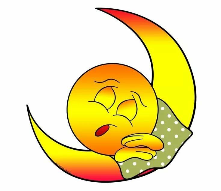 Картинки смайлы спят