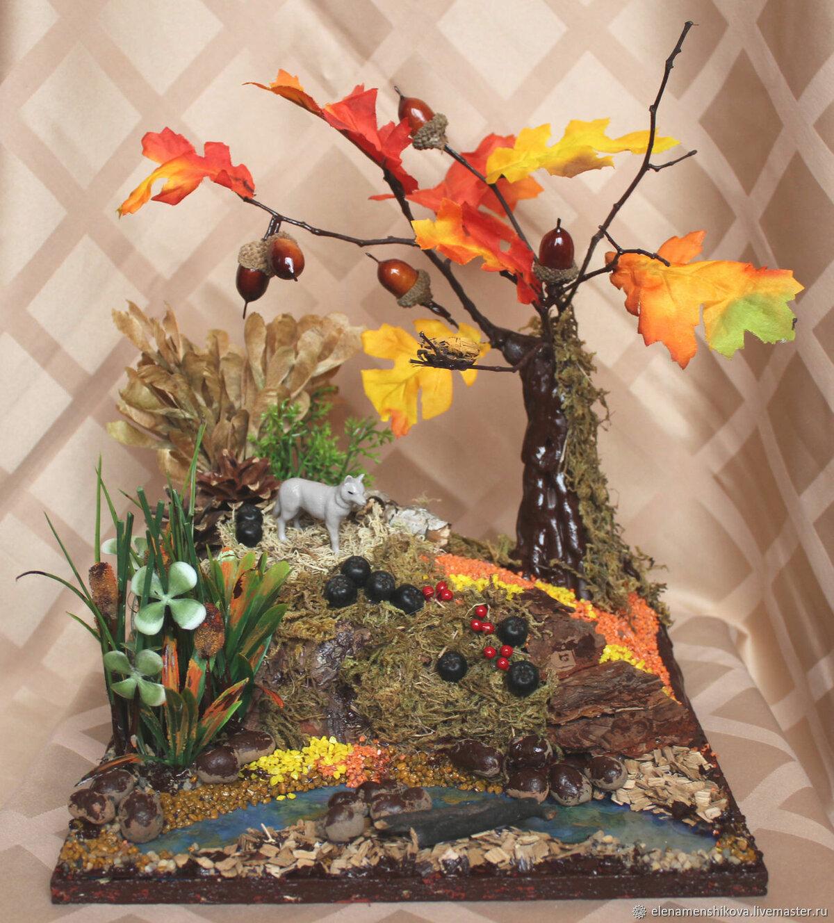 картинки поделок осень из природного материала джозеф