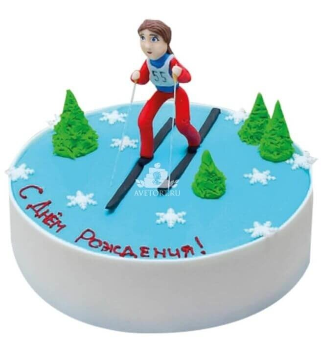 Открытки с днем рождения горнолыжнику
