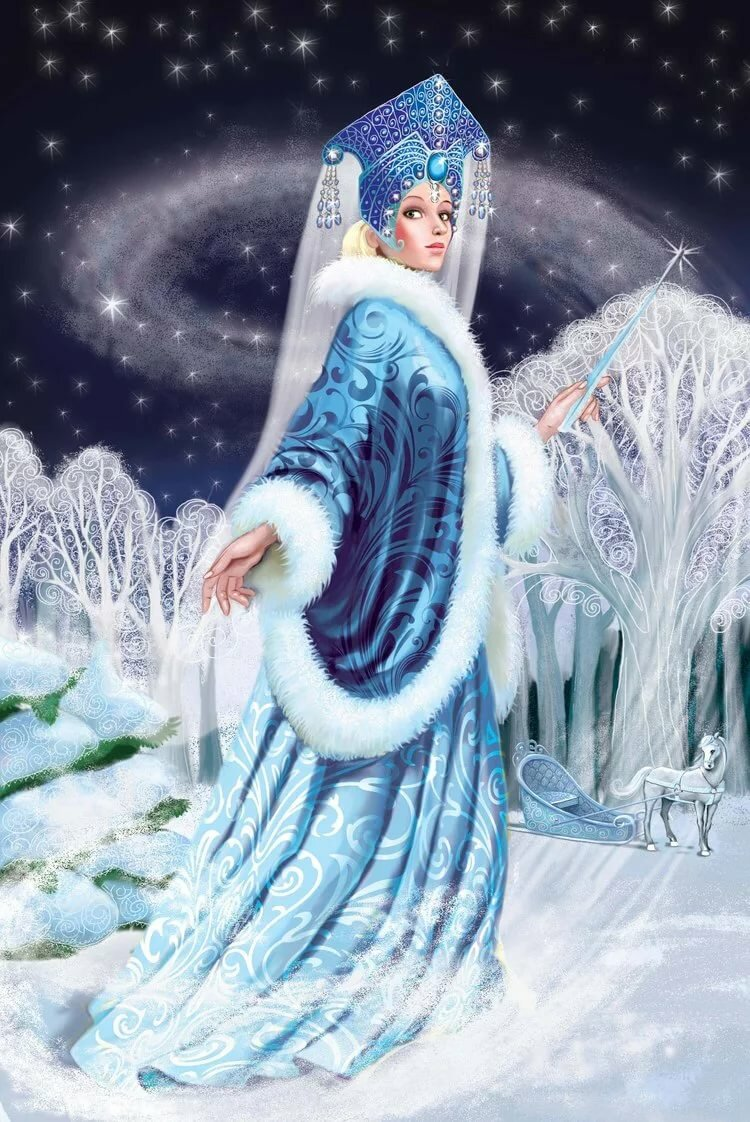 Картинки персонажей зимы