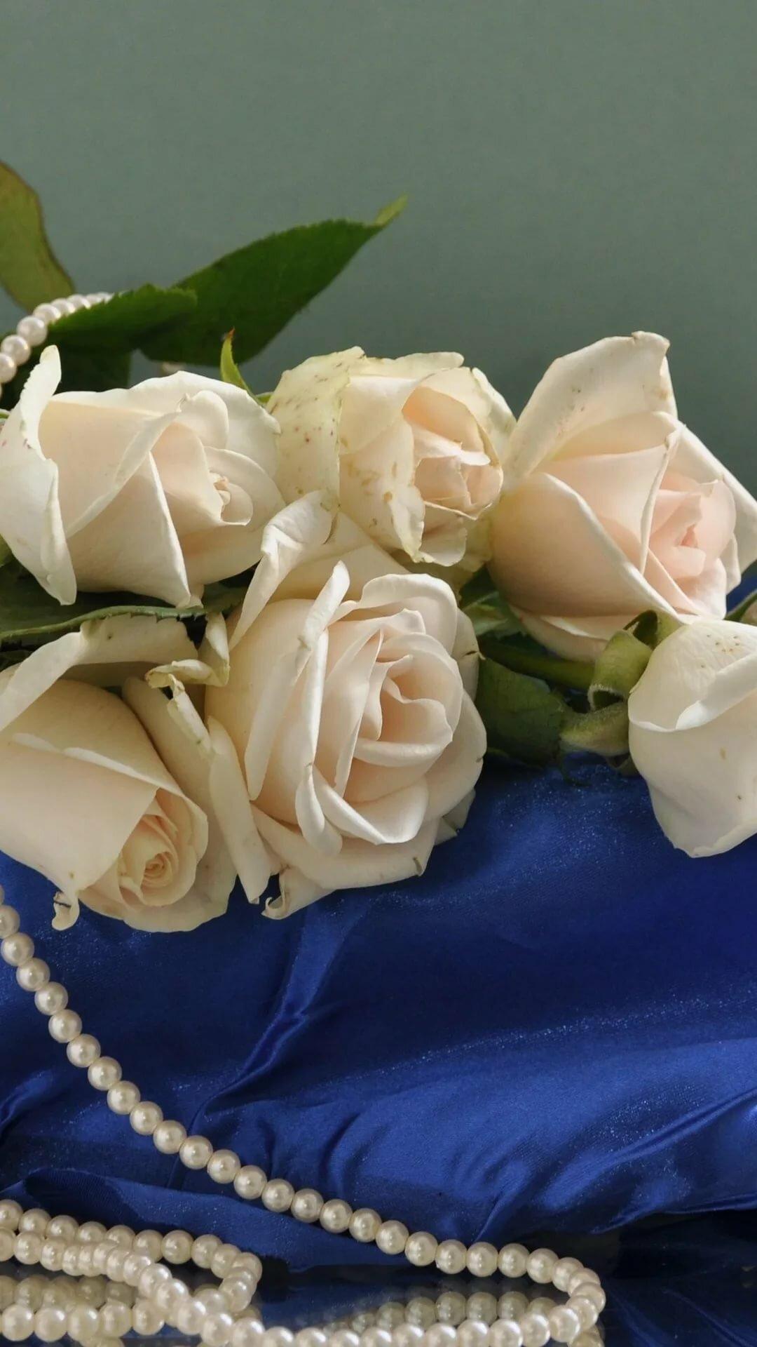картинки на телефон жемчуг и цветы любой