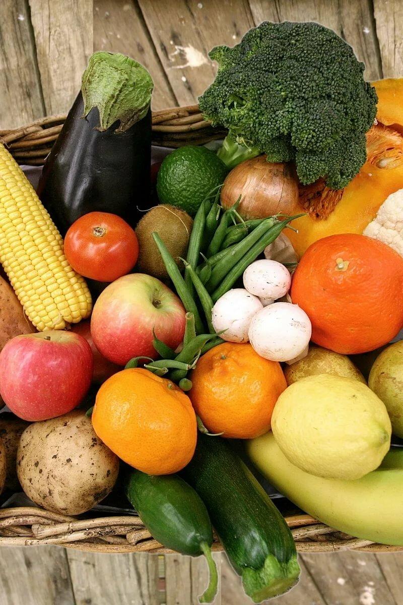Фото и картинки с овощами