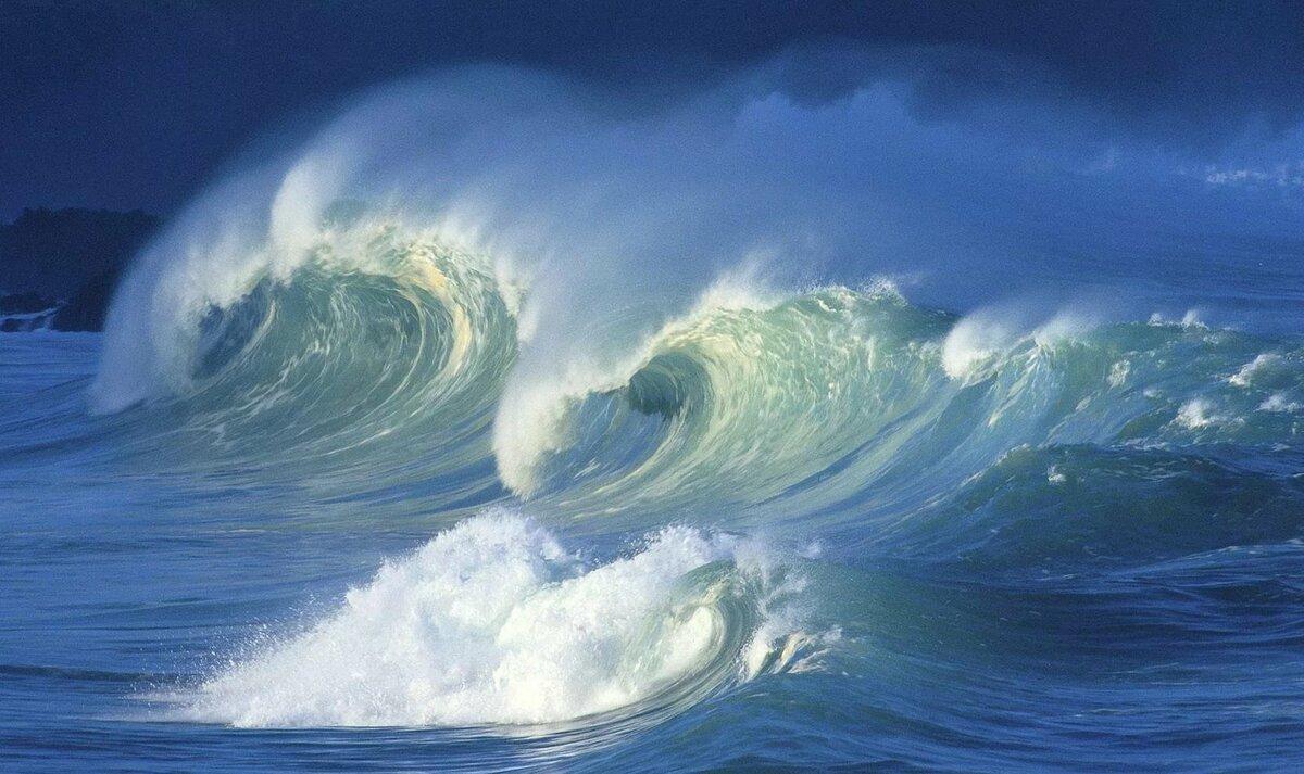 преувеличения, анимашка море волны можно заработать изготовлении