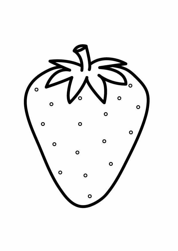 картинки ягода виктория раскраска