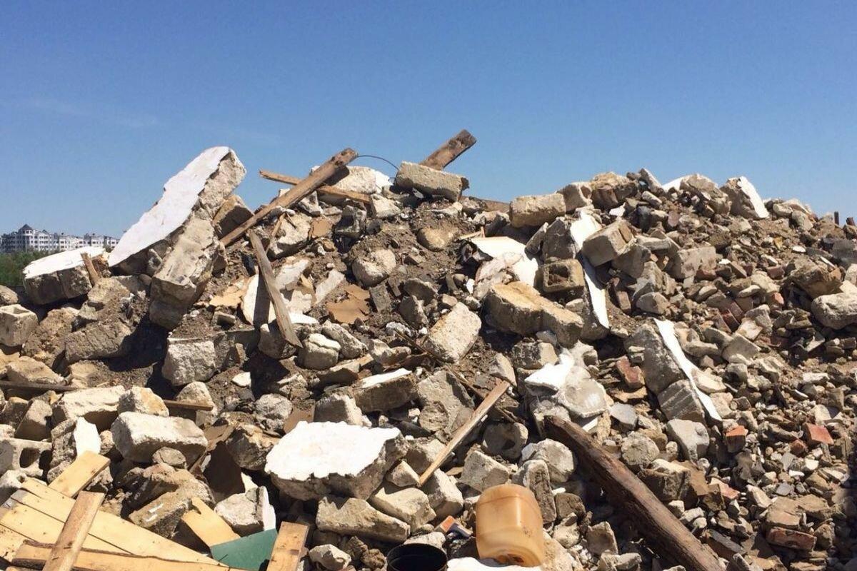 строительные отходы состав