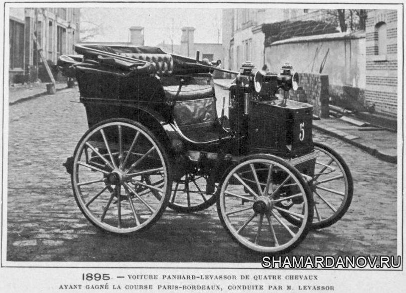 13 июня 1895 года во Франции завершились первые в мире автомобильные гонки на скорость
