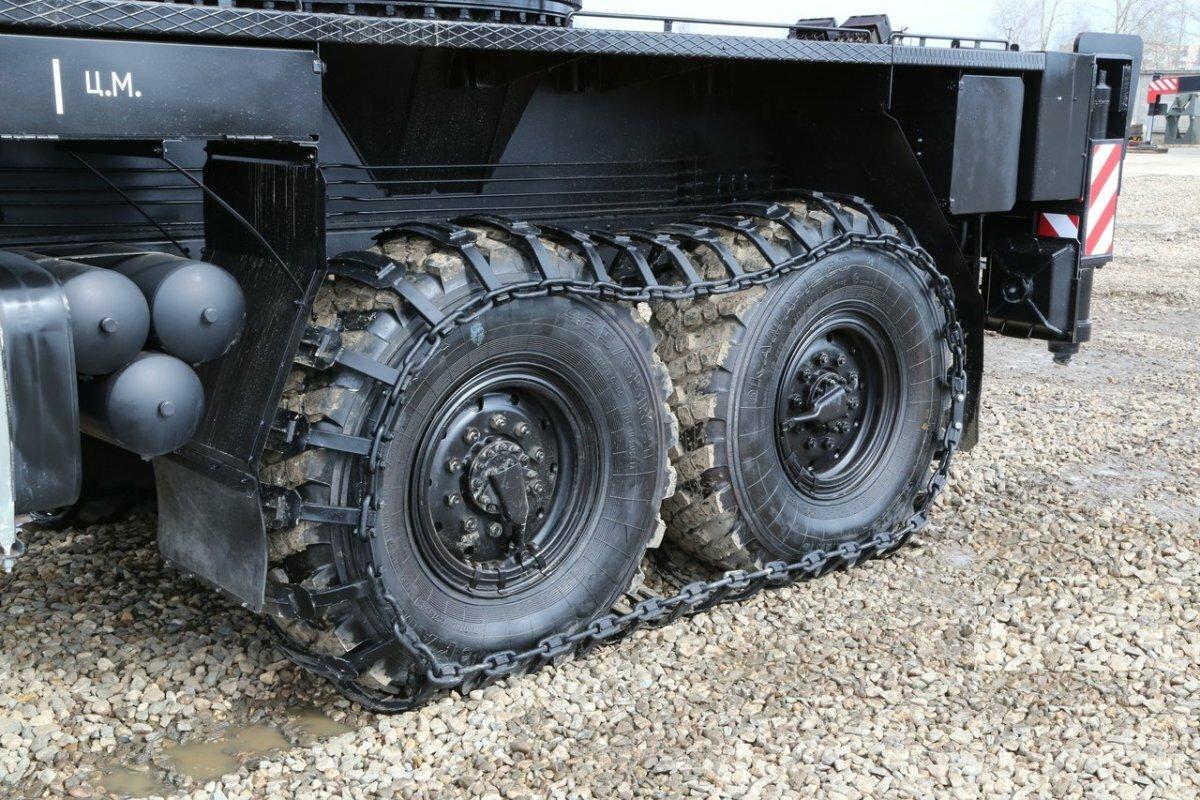 Съёмные гусеницы для грузовиков КамАЗ и КрАЗ