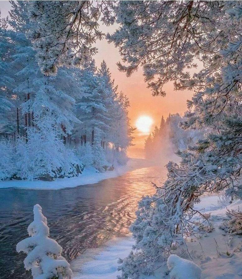 фотография пейзаж зимушка тоже хочет