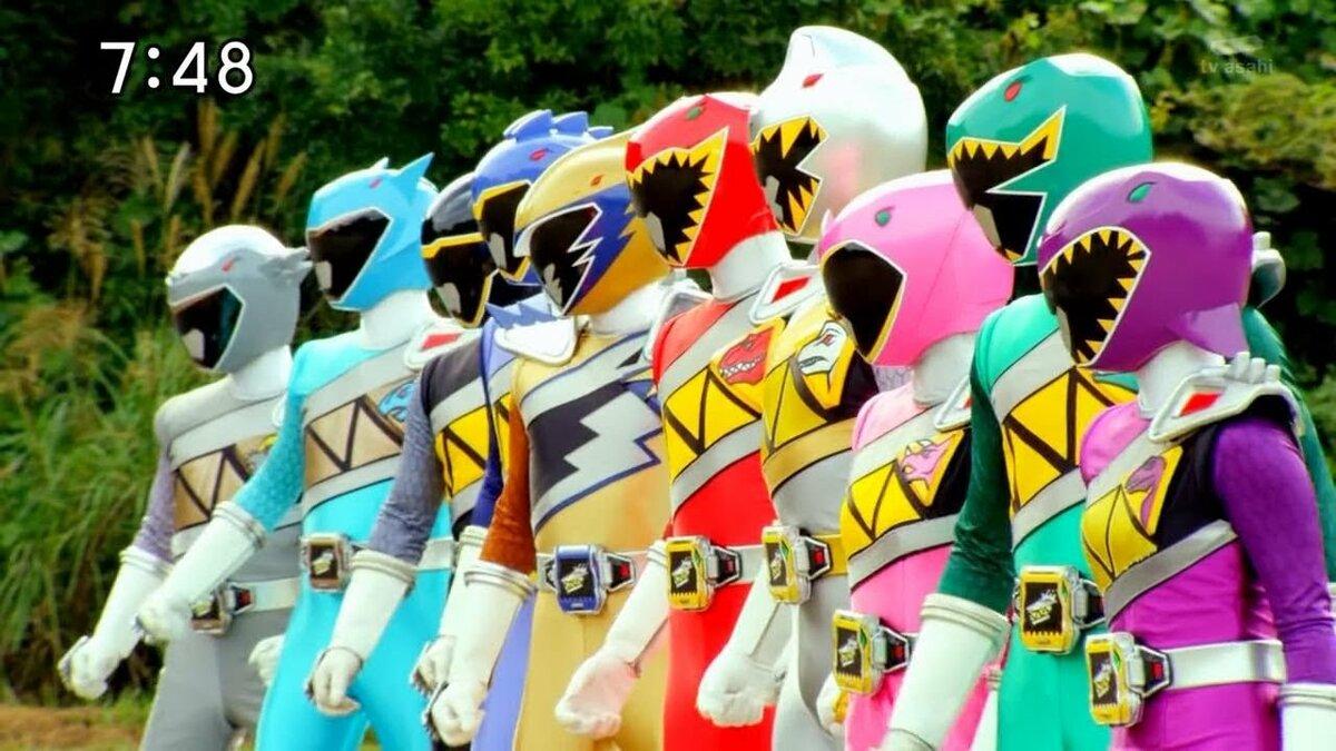 Рейнджеры самураи дино заряд картинки