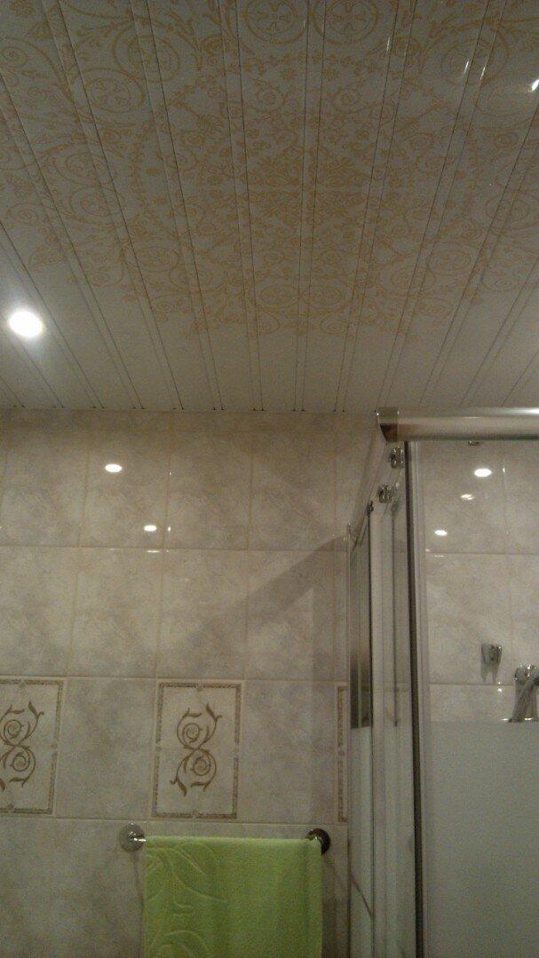 Реечный потолок №115