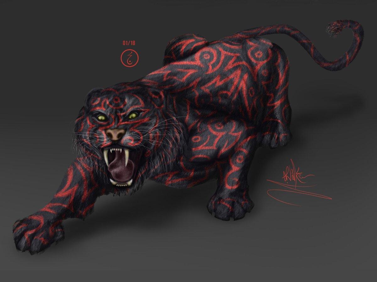 картинки кровавый тигр сразу завоевал популярность