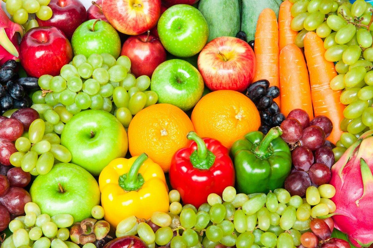 Картинки овощей и фруктов для рекламы