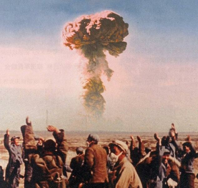 16 октября 1964 года вКитае прошло первое испытание атомной бомбы