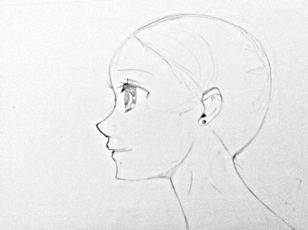Картинки для срисовки в профиль