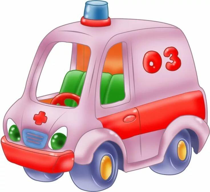 Картинка для ребенка машина
