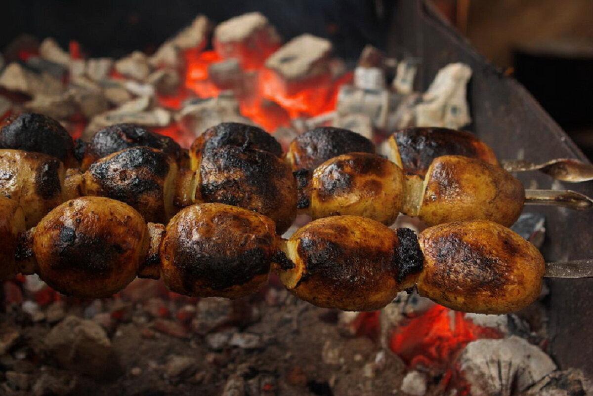 картошка на природе рецепты фото всех четырех
