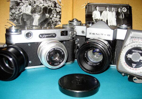 Фототехника прошлого века