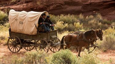 фургон переселенцев на дикий запад