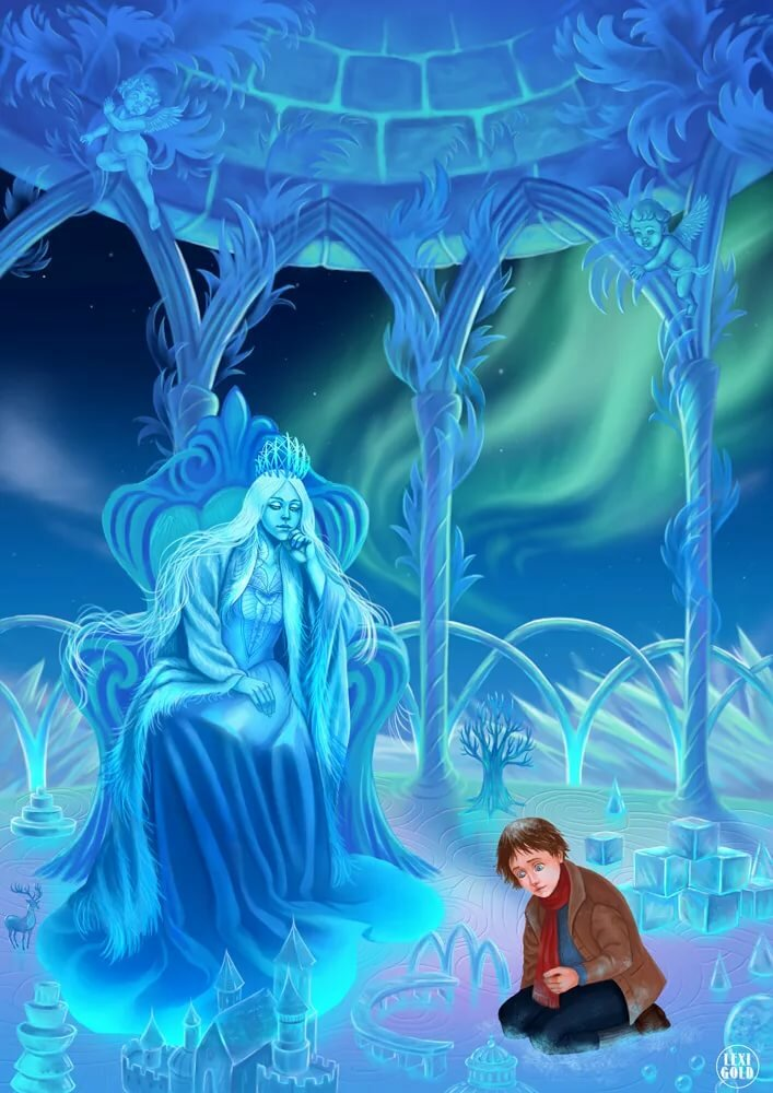 Картинки кая и снежной королевы