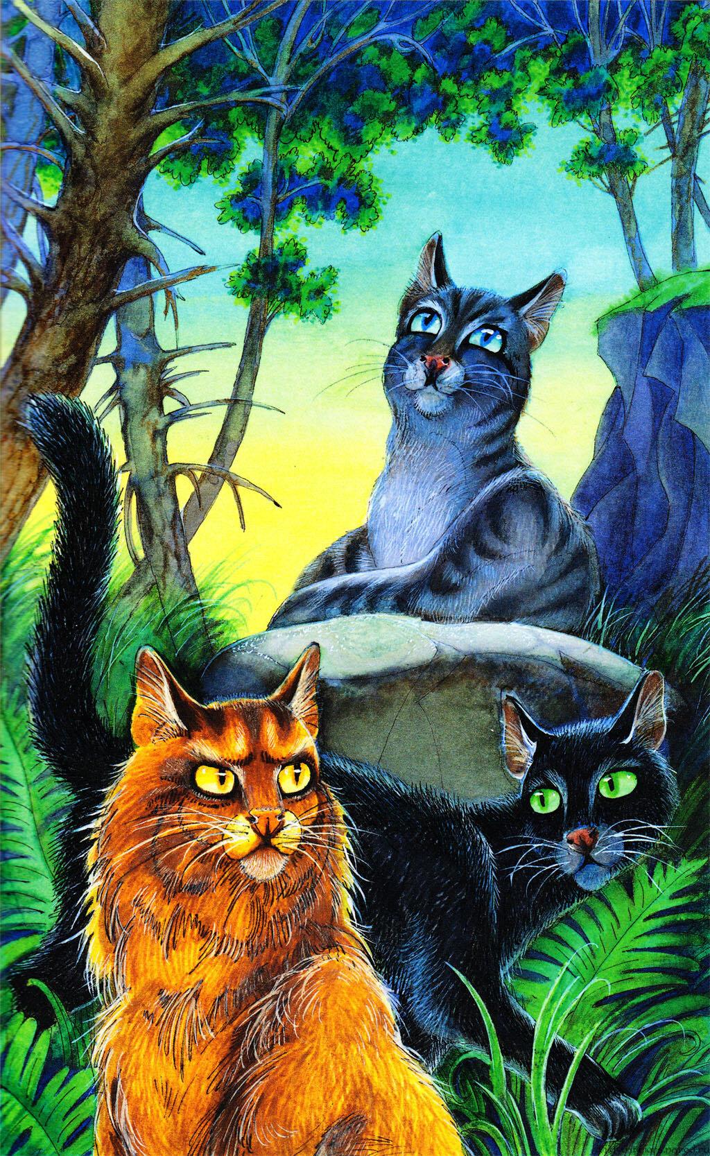 судя коты воители герои племен большому счету