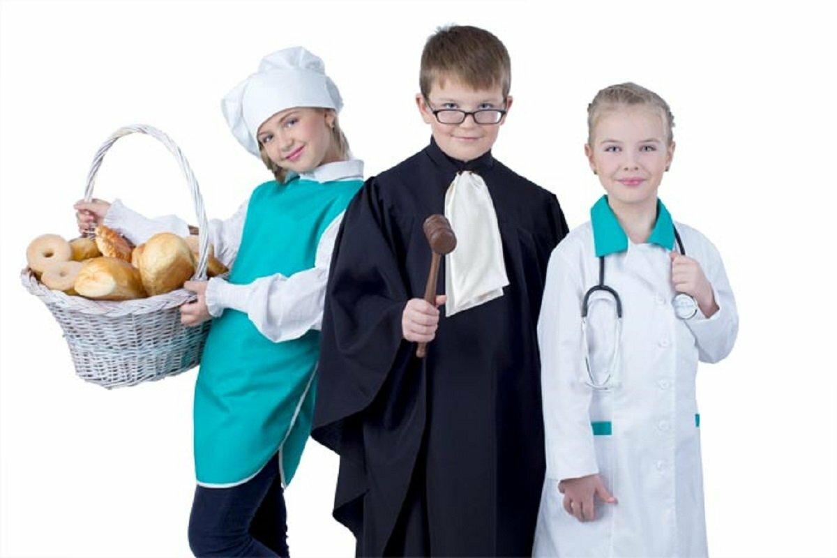 Малыши и профессии картинки