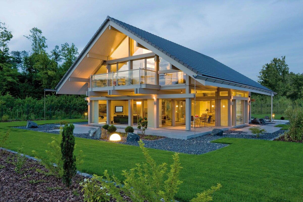 современное строительство домов картинки стиль