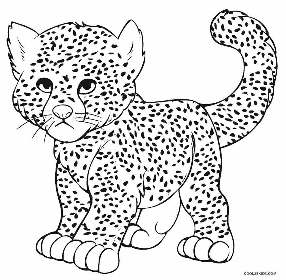 раскраска гепарда распечатать антистресс власти округа