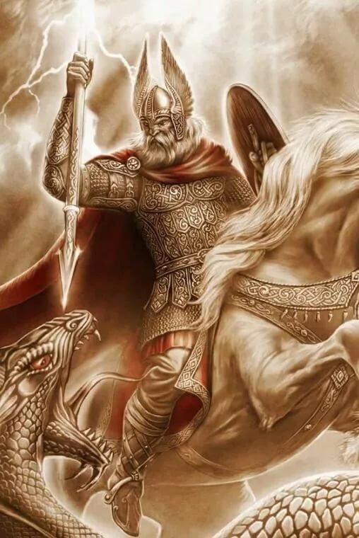славянские боги картинки арт