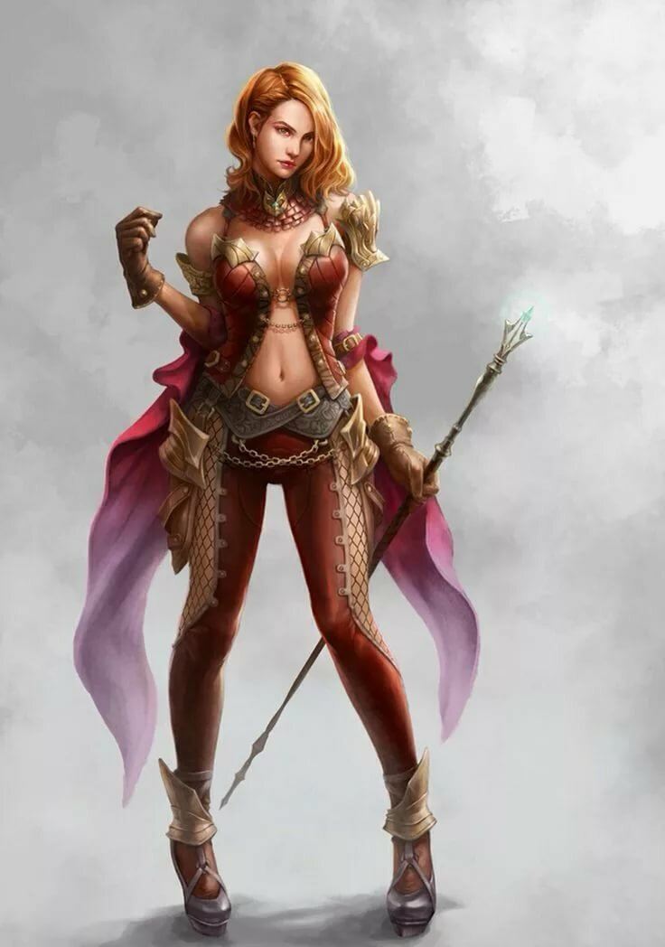 Adult female fantasy characters