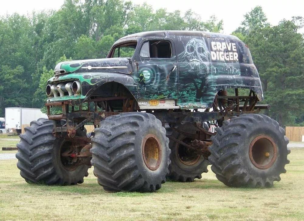 Автомобили с большими колесами картинки
