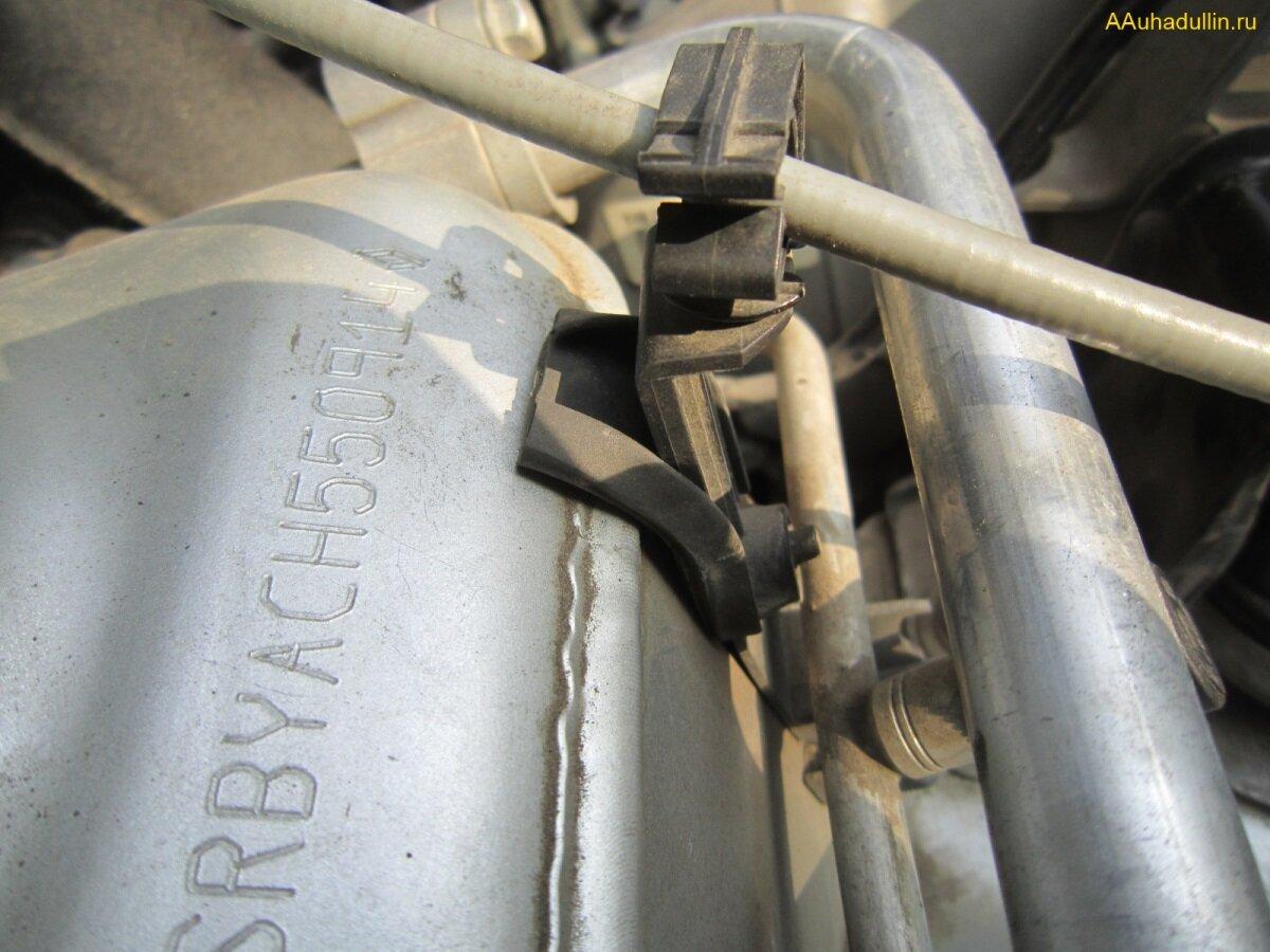Резиновая прокладка кронштейна тросика регулировки фары