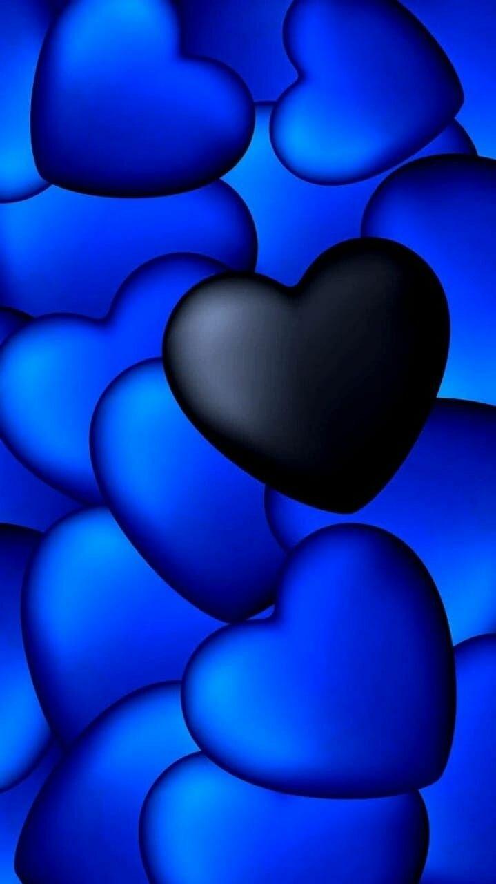 Голубые картинки для смартфона