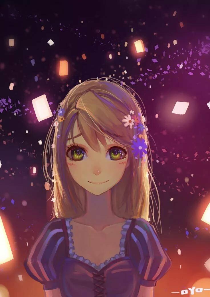 Картинки в аниме стили