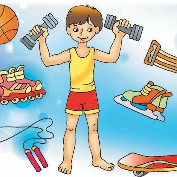 Картинки для малышей здоровый образ жизни
