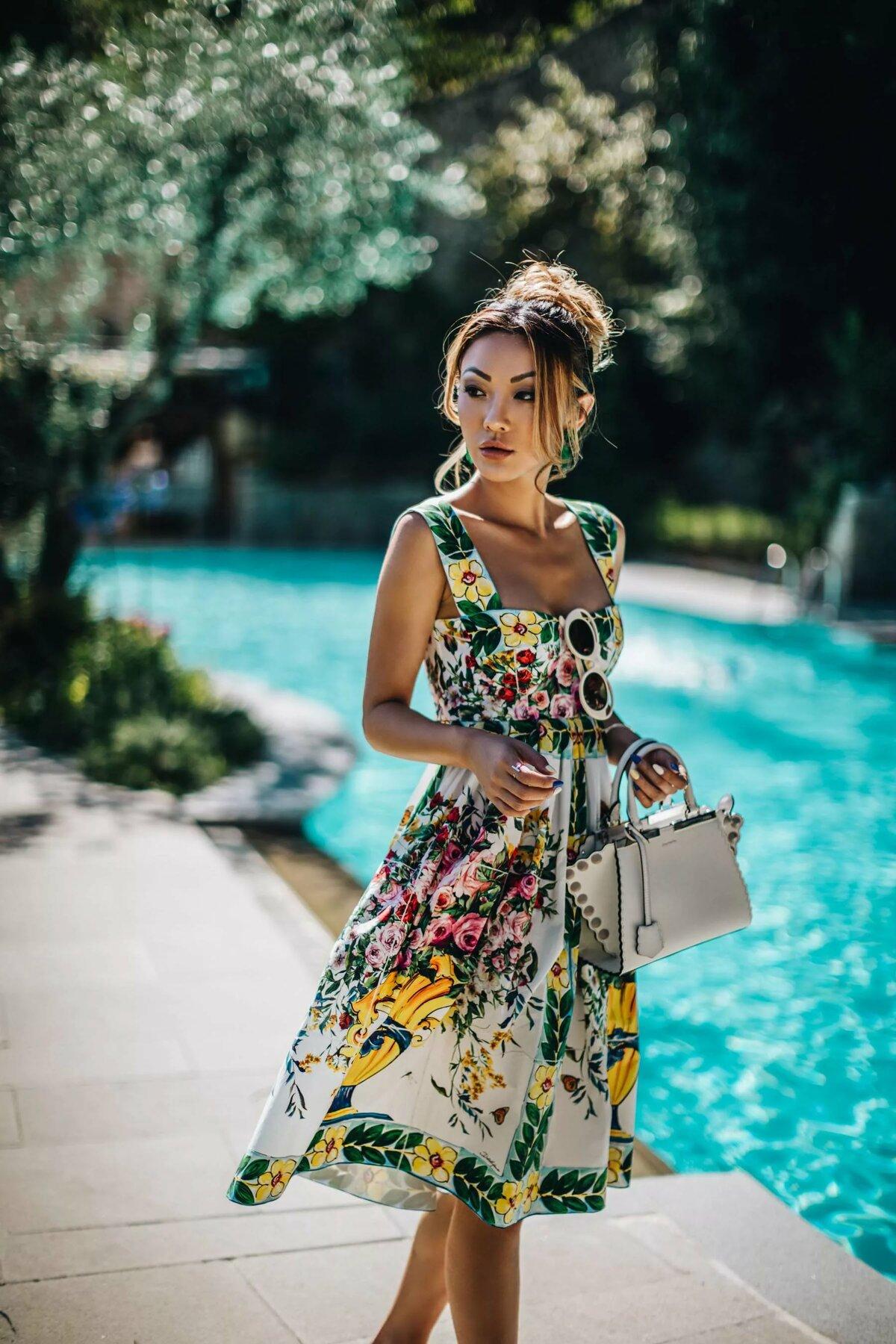 Картинки с платьями на лето
